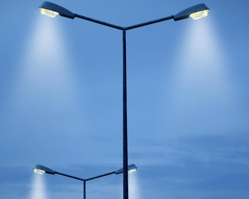 Modern Street Lights Royal Hitech Poles P Ltd